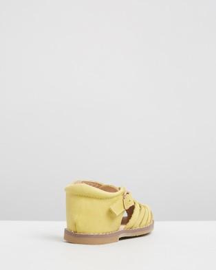 Anchor & Fox - Amalfi Sandals Kids Casual Shoes (Lemon)