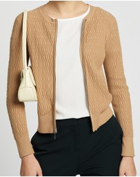 Marcs - Mini Cable Zip Cardi