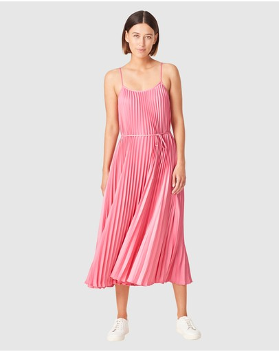 French Connection - Pleated Midi Dress