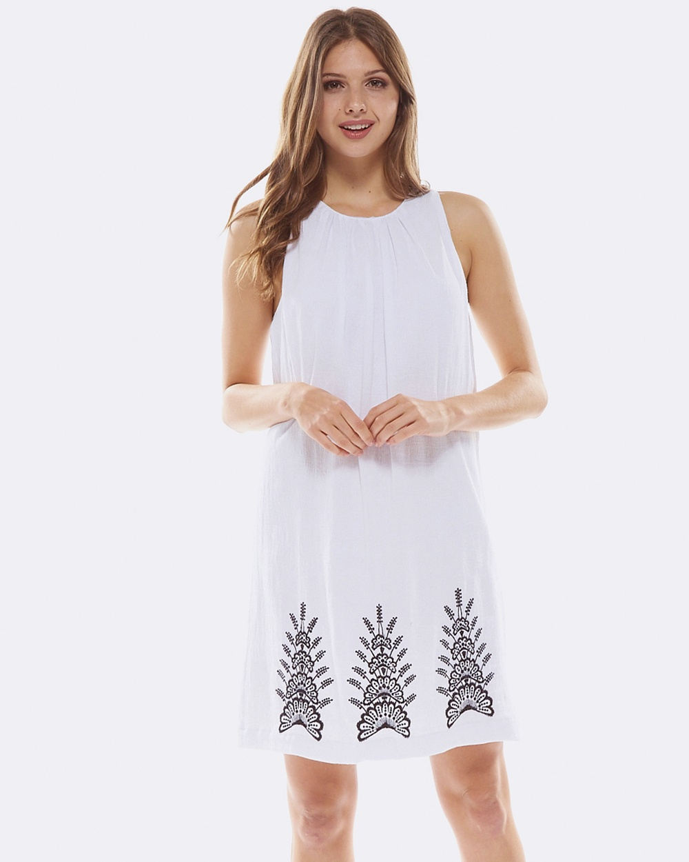 Deshabille Seminyak Dress White Dresses White Seminyak Dress White