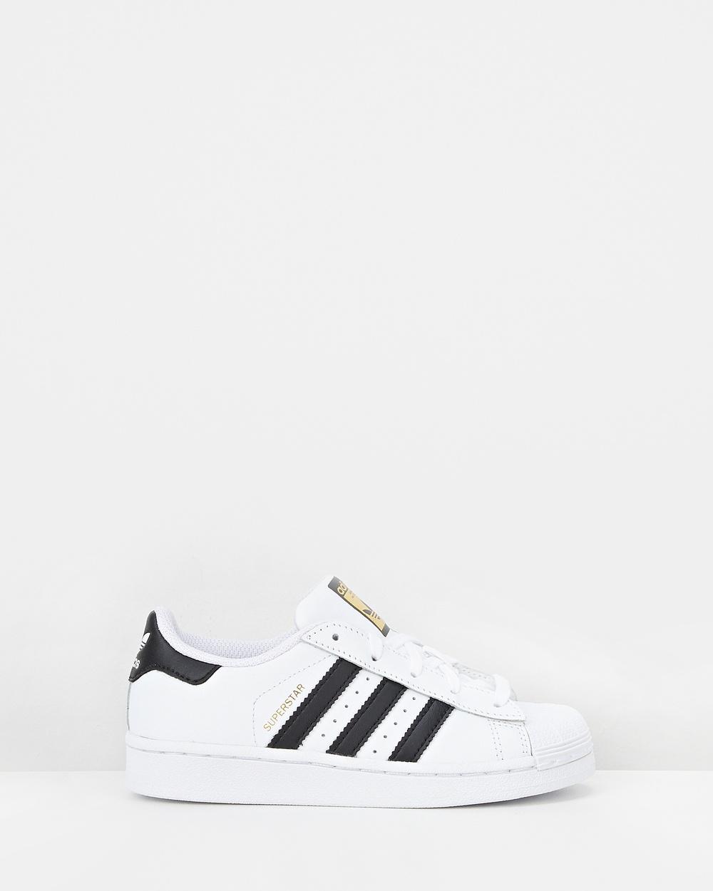 adidas Originals Superstar Foundation Pre School Lifestyle Shoes White/Black