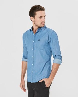 Coast Clothing Long Sleeve Denim Shirt - Casual shirts (Blue)