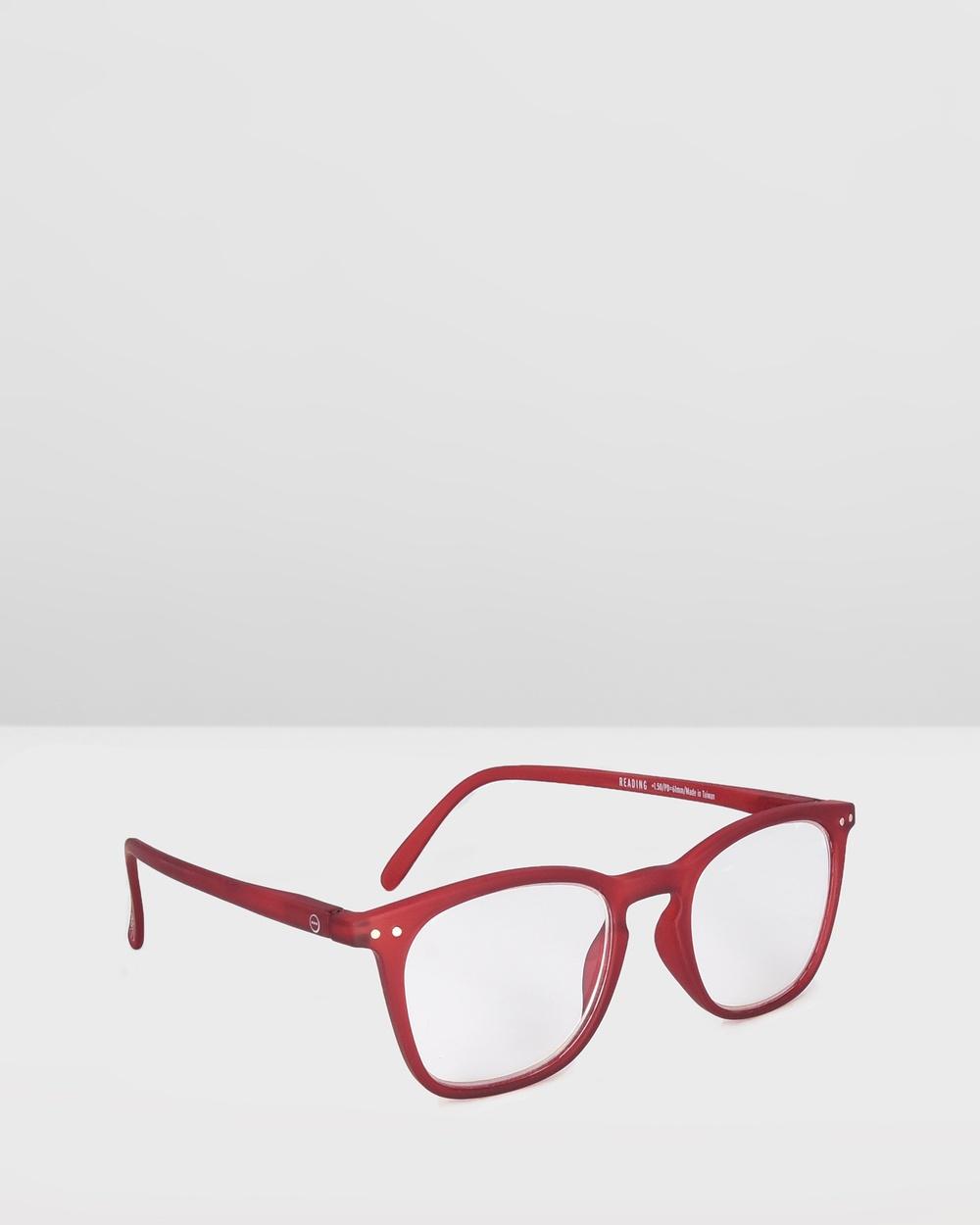 IZIPIZI Reading Collection E Optical Red