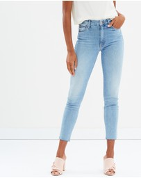 Mother Denim - High-Waisted Looker Ankle Fray Jeans