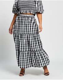 Atmos&Here Curvy - Jayne Cotton Skirt