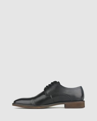 Airflex Franklin Leather Derby Dress Shoes - Dress Shoes (Black)