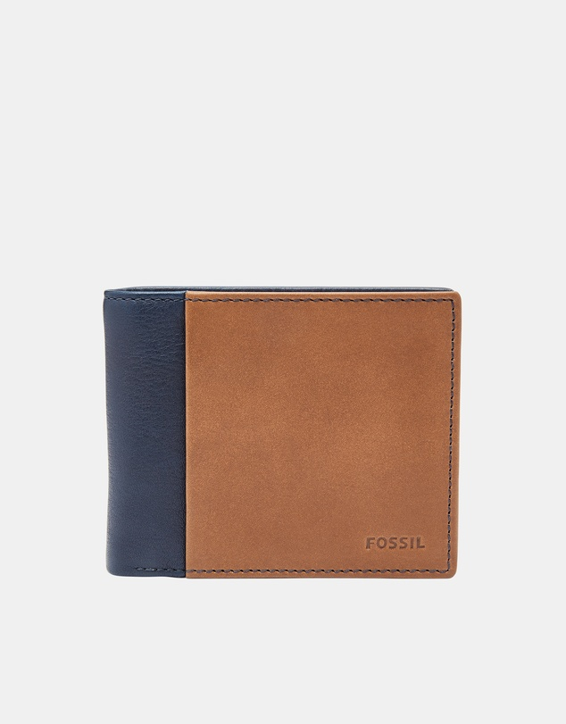 Fossil - Ward Navy Bifold Wallet