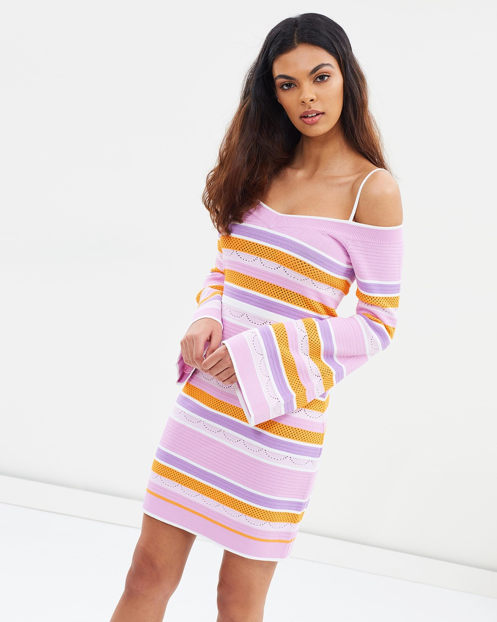 alice McCALL Pocketful Of Rainbows Dress Bodycon Dresses Lilac Pocketful Of Rainbows Dress