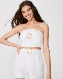 Supre - Helly Strapless Top