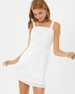 Calli – Heidi Dress White