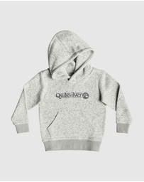 Quiksilver - Boys 2-7 Keller Art Polar Fleece Hoodie