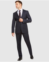 Kelly Country - PGH Pure Wool Slim Fit Self Check Suit