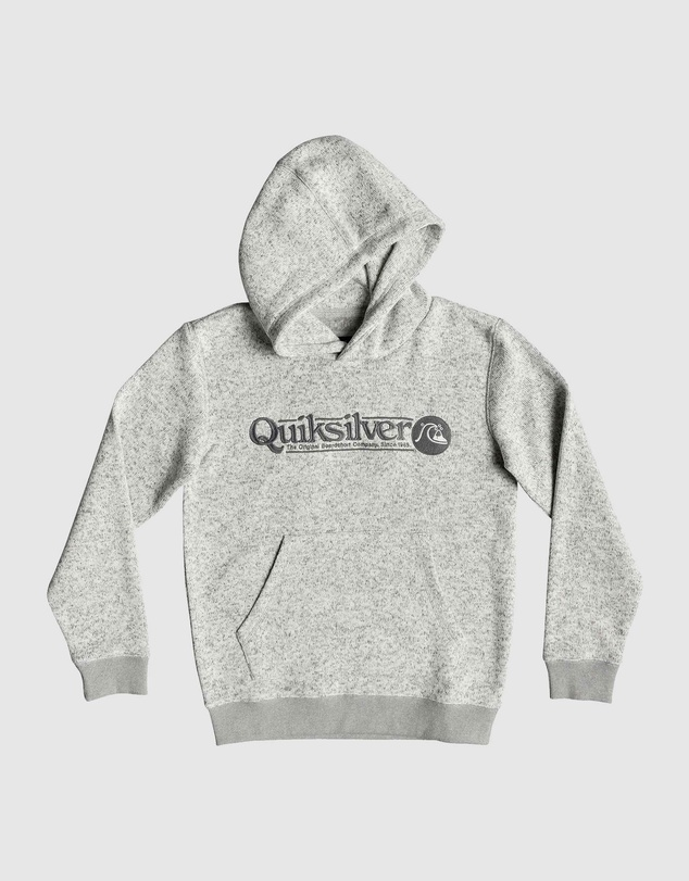 Quiksilver - Boys 8-16 Keller Art Polar Fleece Hoodie