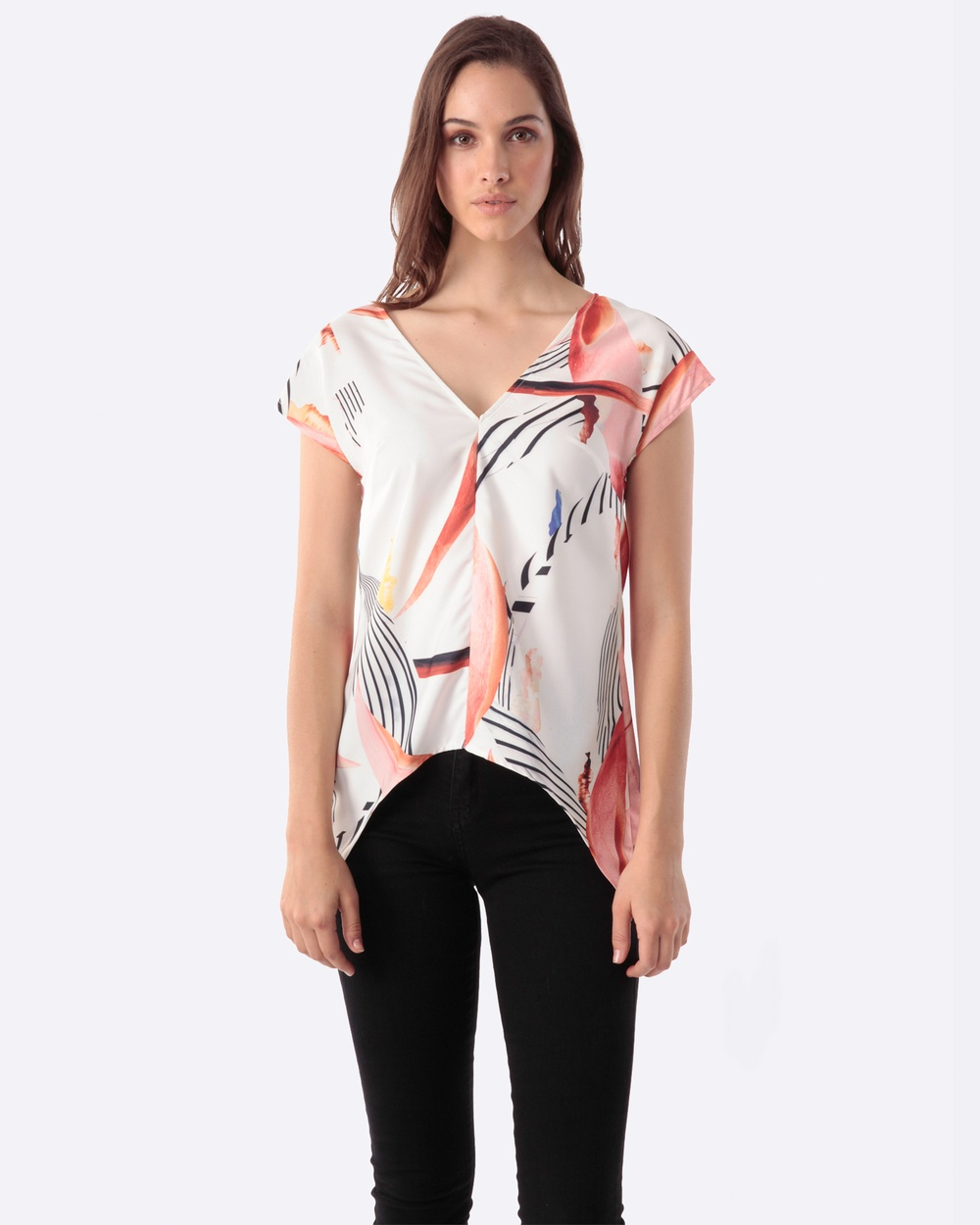 Amelius Foliar Dreams Blouse Tops Multi Foliar Dreams Blouse
