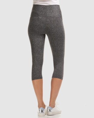 Soon Maternity Sage Overbelly 3 4 Active Leggings - 3/4 Tights (Grey)