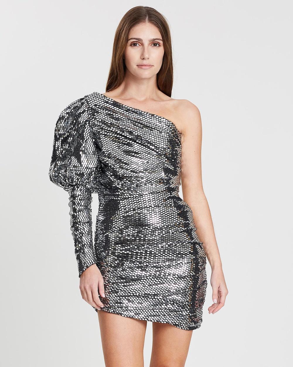 Eliya The Label Silver Monarch Dress