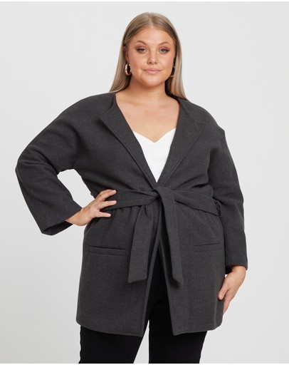 b21b51b851 Plus Size Coats & Jackets | Buy Womens Curvy Jackets & Coats Online  Australia- THE ICONIC