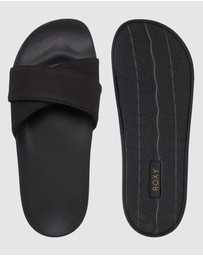 Roxy - Womens Slippy Lux Sliders