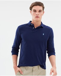 Polo Ralph Lauren - Custom Slim Cotton Mesh Polo