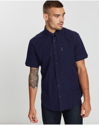 Ben Sherman - Short Sleeve Raised Texture Shirt