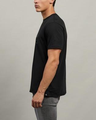 rag & bone NY Logo Tee - T-Shirts & Singlets (Black)