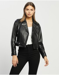 Atmos&Here - Bobbie Leather Jacket