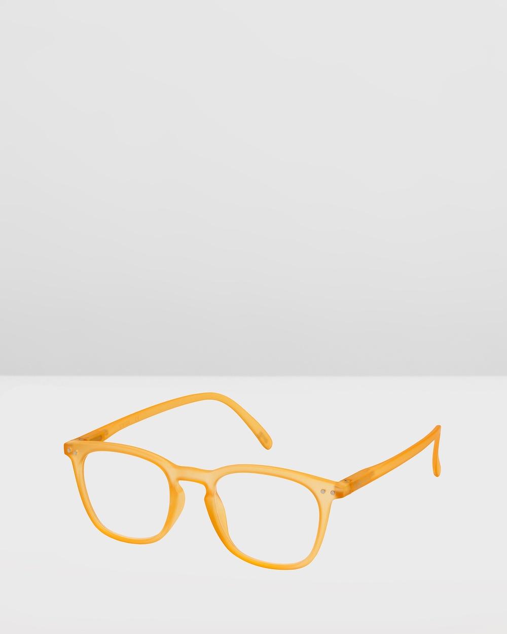 IZIPIZI Reading Collection E Optical Yellow