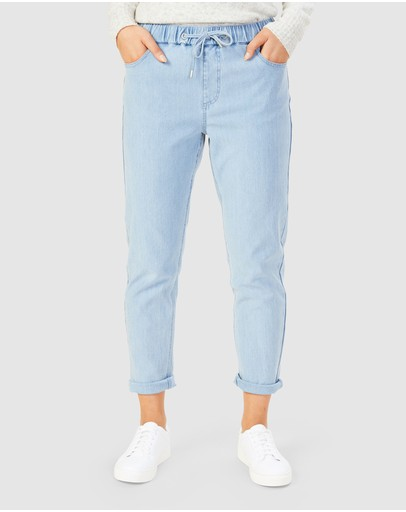 French Connection - Relaxed Denim Jogger