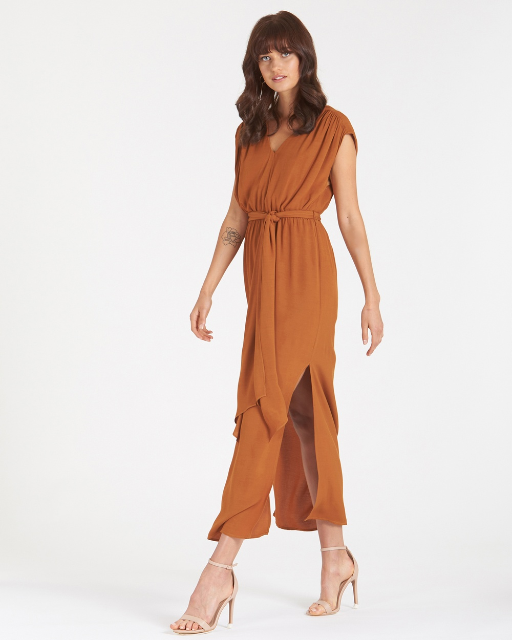 Amelius Adena Dress Dresses Rust Adena Dress