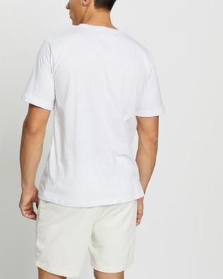 Merlino Street Bamboo T Shirt - T-Shirts & Singlets (White)