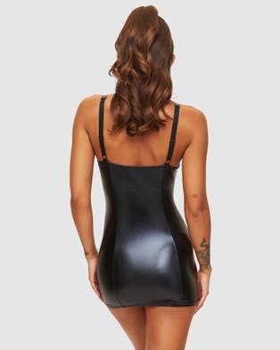 Ann Summers Addiction Dress - Sleepwear & Loungewear (Black)