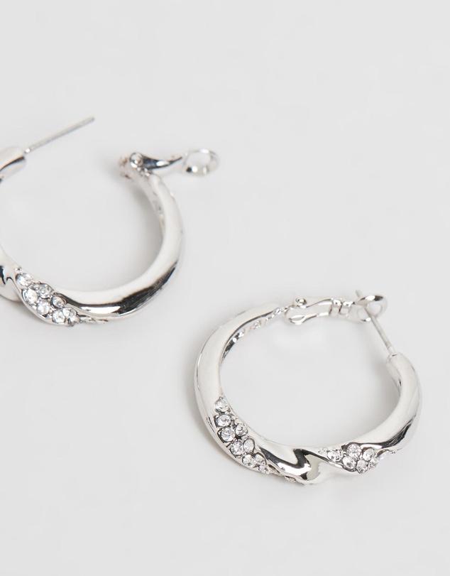 Women Nola Hoop Earrings with Swarovski® Crystals