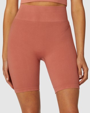 L'urv Aura Seamless Shorts - Shorts (Brown)