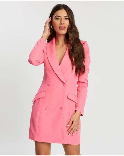 Missguided - Neon Blazer Dress