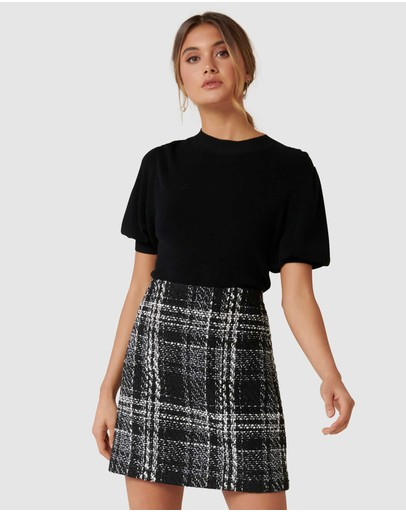 Forever New - Sofia Boucle Mini Skirt