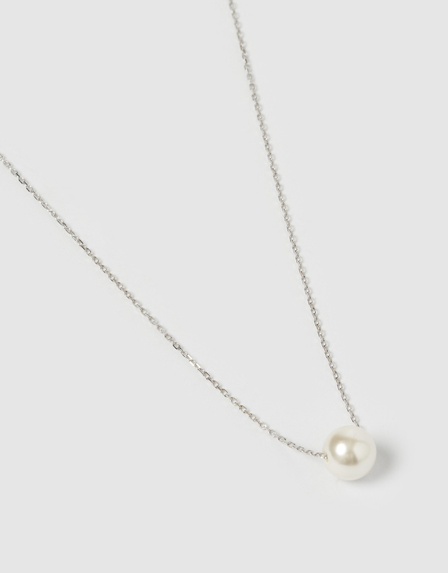 Women Delicate Freshwater Pearl Necklace