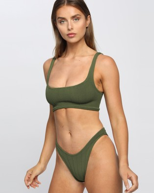 Hunza G Xandra Nile Bikini Set - Bikini Set (Khaki Nile)