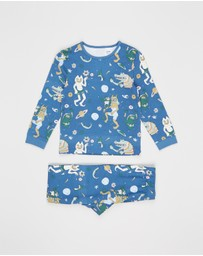 Cotton On Kids - Kip & Co Orlando Long Sleeve PJ Set - Kids-Teens