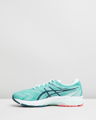 ASICS GT 2000 8 D Wide   Women's - Performance Shoes (Techno Cyan & Magnetic Blue)