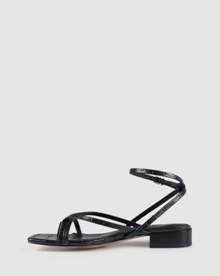 Siren Jenna - Mid-low heels (Black)