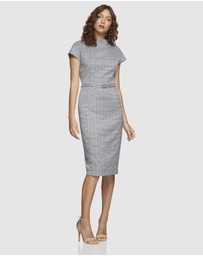 Oxford - Tiffany Check Pencil Dress