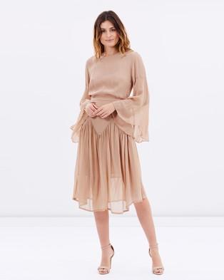 S/W/F – Anna Dress – Bridesmaid Dresses (Soft Blush)