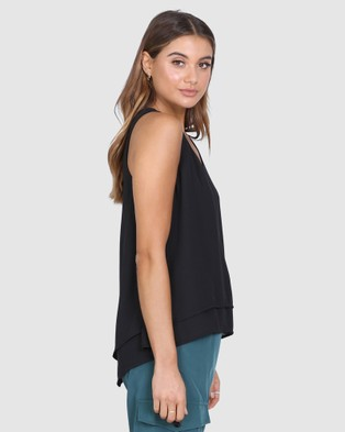 Madison The Label Klara Top - T-Shirts & Singlets (Black)