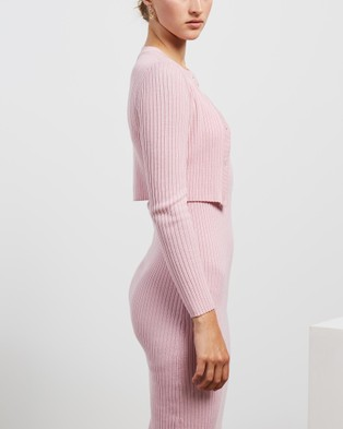 Mcintyre Aida Cardigan - Jumpers & Cardigans (Pink)