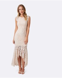 Forever New - Francesca Fishtail Lace Maxi Dress