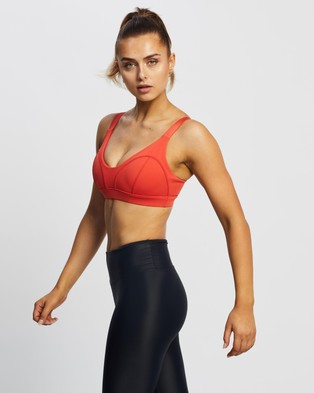 Lilybod Vaylor Sports Bra - Crop Tops (Grenadine)