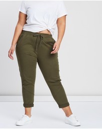 Cotton On Curve - Curve Rolled Hem Chinos