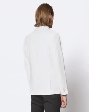 Jack London Midnight Evening Jacket - Suits & Blazers (White)