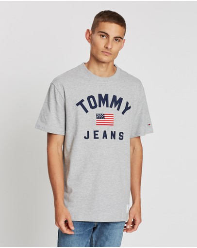 Tommy Jeans - USA Flag Tee