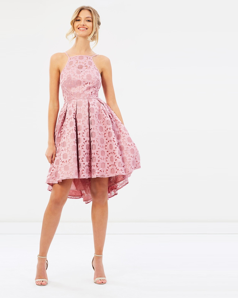 Chi Chi London Ruthie Dress Dresses Pink Ruthie Dress